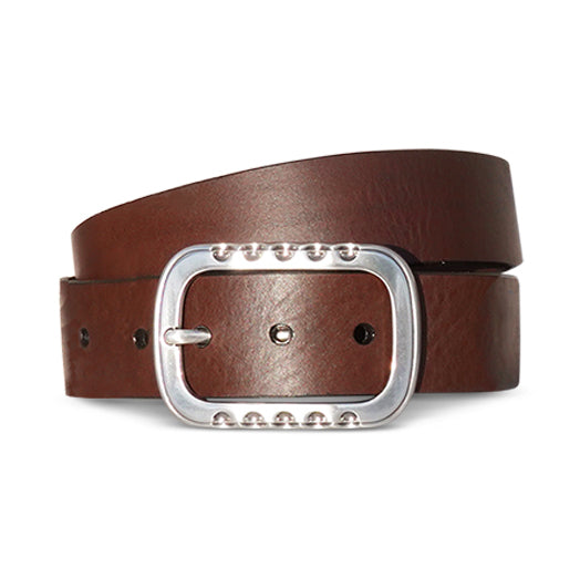 Brilliant Rectangle - Bridle Brown
