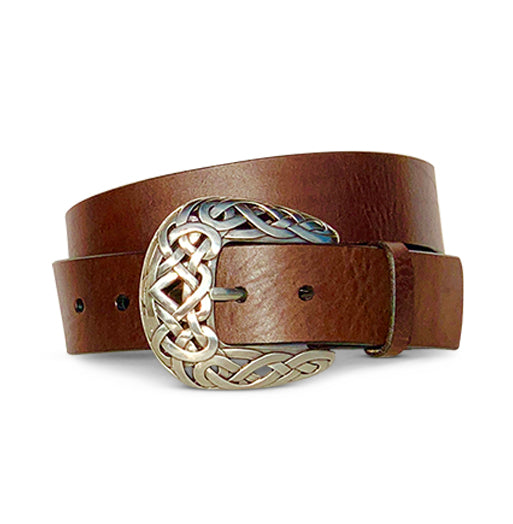 Woven Western - Bridle Brown