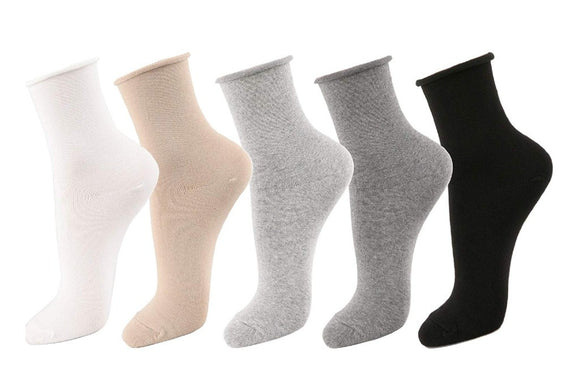 Roll Top, Relaxed Fit Socks
