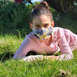 Junior Pleated Face Mask - !! 50% OFF Sale !!- Small/Youth Basic Pleated