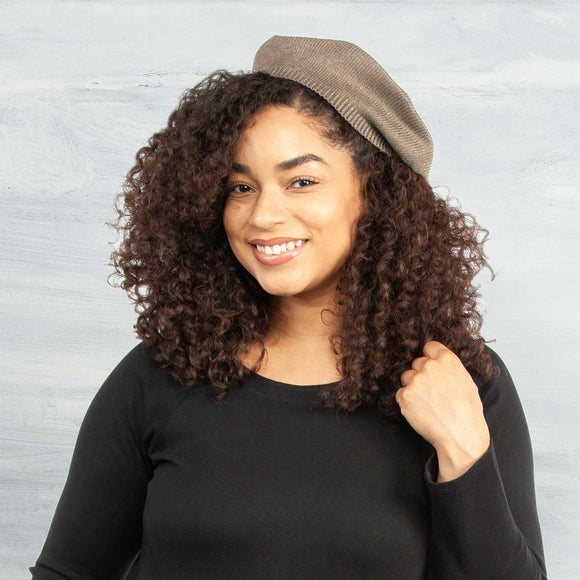 100% Organic Cotton Slouchy Beret