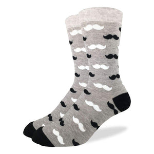 Moustache Socks Men's
