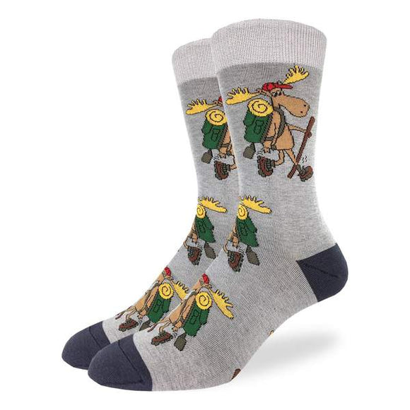 Hiking Moose Socks Men's XL
