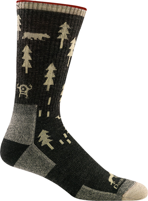 ABC Boot Sock, Men's Midweight with Cushion #1964