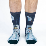 Good Luck Sock Men's Apollo Astronaut