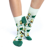 Good Luck Sock  Women's Avacado Yoga