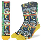 Good Luck Sock Batman & Ramen Men's