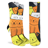 Good Luck Sock Women's Cats Are Watching
