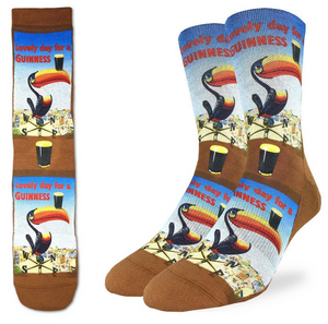 Good Luck SockMen's Lovely Day for a Guinness Toucan