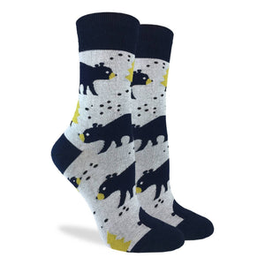 Good Luck Sock Women's Bears in the Forest