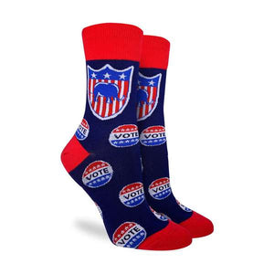 Good Luck  Women's Vote Republican Socks