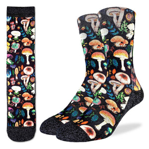 Good Luck Sock Men's Mushrooms Active Fit