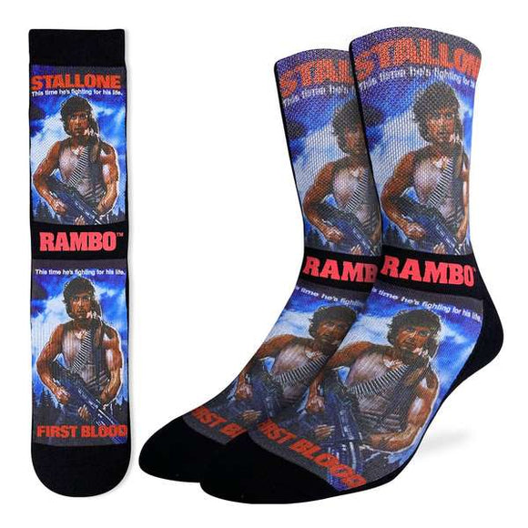 Good Luck Men's Rambo First Blood Socks