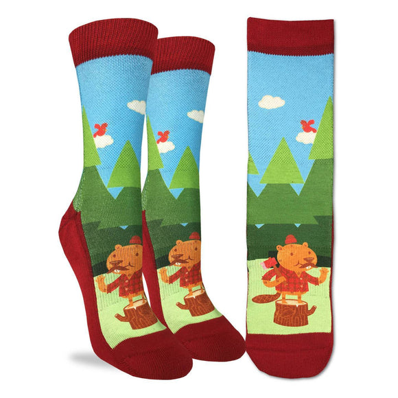 Good Luck Sock Women's Lumberjack Beaver