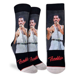 Good Luck Women's Freddie At Live Aid Socks
