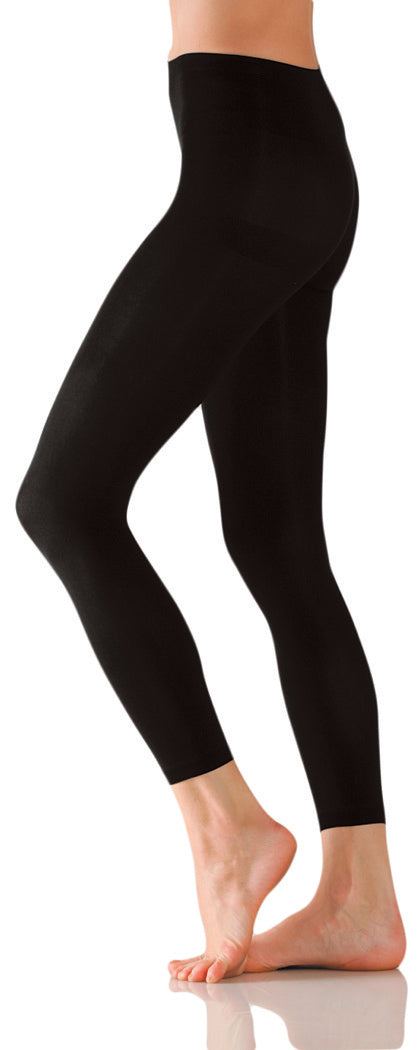 Foot Traffic Microfiber Footless Tights