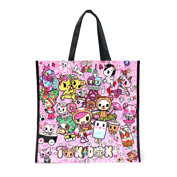 Donutella Kawaii, 2 Sided Tote Bag