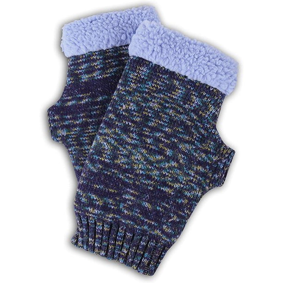 Ragg, Sherpa Lined Fingerless Gloves, Weekend Collection  (50% off Sale!!!)