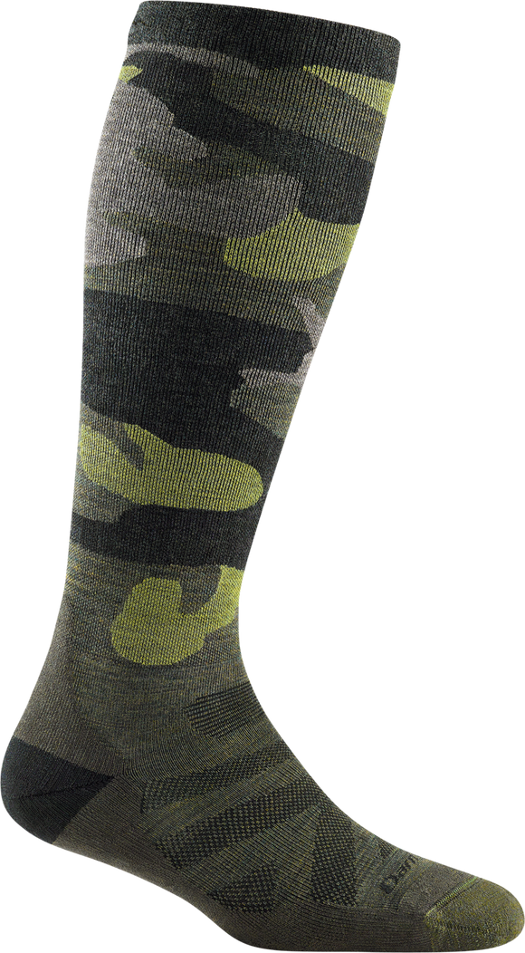 Camo, Mid-weight Graduated Light Compression With Cushion, Women's Over-the-Calf #8010