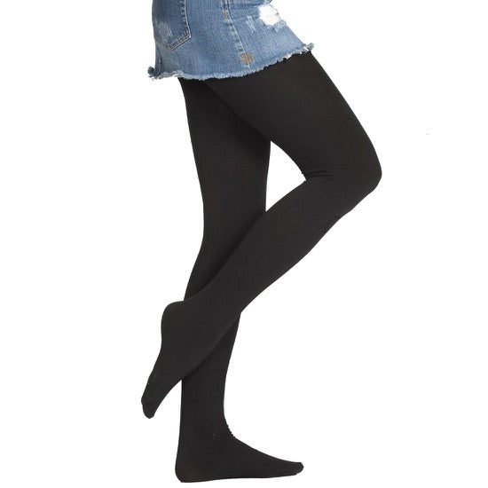 Fleece Lined Tights, Women's Footed