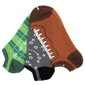 Football; 3-pair Pack, Men's Ankle