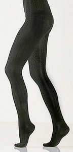 X Bamboo Cable Tights
