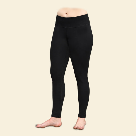 Blackout Ankle Leggings, Organic Cotton