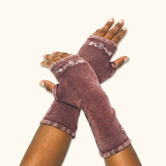 Flourish Arm Warmers, Organic Cotton
