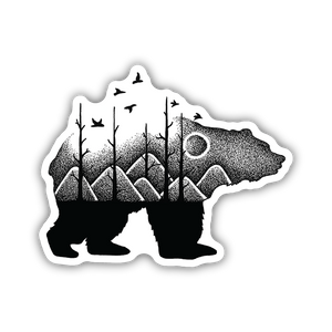 Forest Bear, Sticker