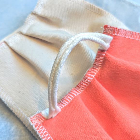 FACE MASK - Summer Lightweight  - Cloth - Washable - Cotton (! 15% Off Until 1-24-21 !)