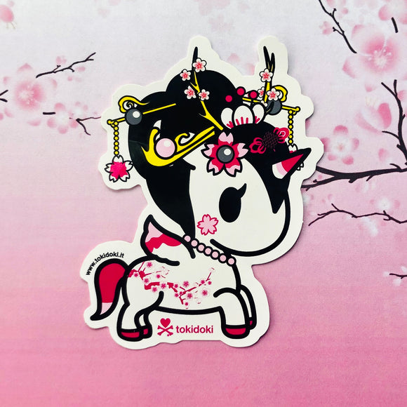 Yoshino, Cherry Blossom, Unicorno, Sticker