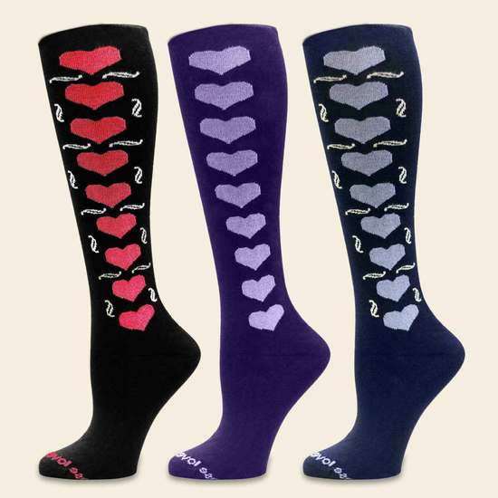 Love, Women's Knee-high, Organic Cotton