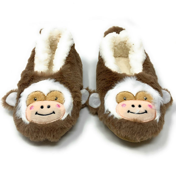 Let's Monkey - Kids Indoor Slipper