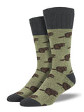Beaver,  Outlands Collection, Men's Boot Sock