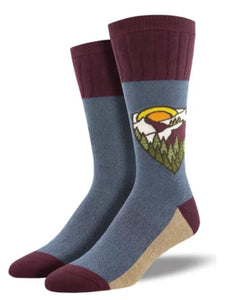Mountain Top, Outlands Collection, Men's Boot Sock