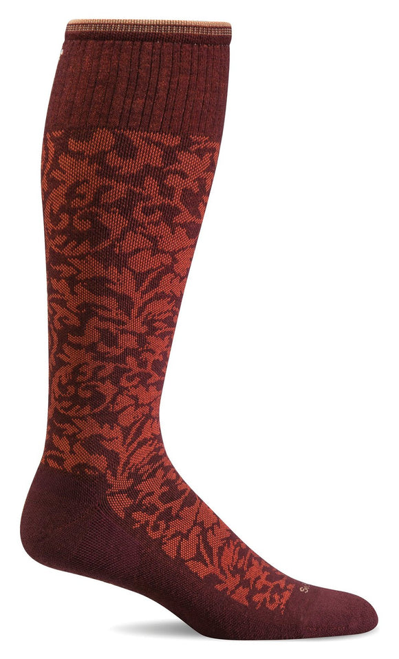 Damask, Women's Knee-high Compression