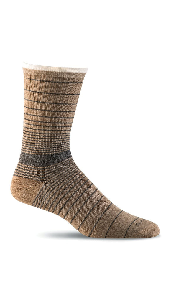 Plantar Ease, Men's Firm Compression Crew
