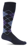 Argyle,  Men's Moderate Compression