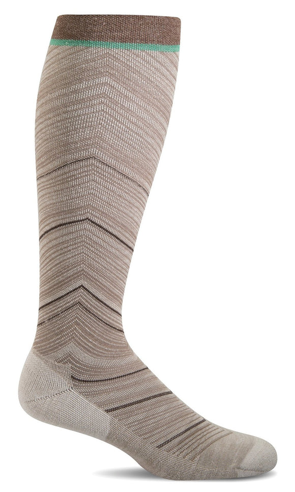 Full Flattery - Wide Calf Fit - Moderate Knee-high Compression