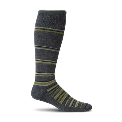 Concentric Stripe, Men's Moderate Compression