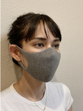 Bamboo Charcoal Face Mask, Organic cotton (Tabbisocks Wellness)