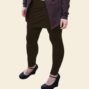 Tulip Skirted Leggings, Organic Cotton