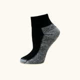 Sport Sock, 74.4% Organic Cotton, Quarter Crew