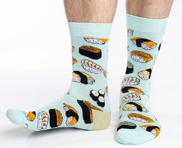 Sushi, Men's Good Luck Sock
