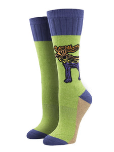 Let The Moose Loose, Outlands Collection, Women's Boot Sock