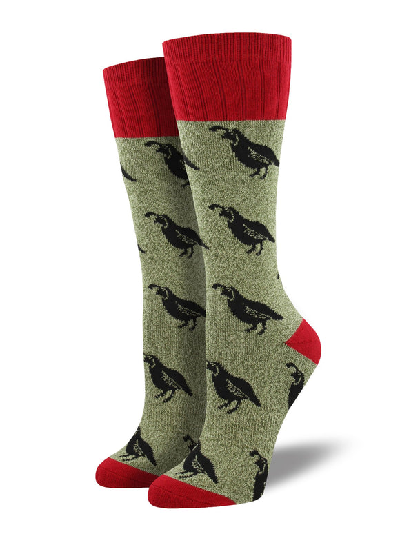 Quail, Outlands Collection, Women's Boot Sock