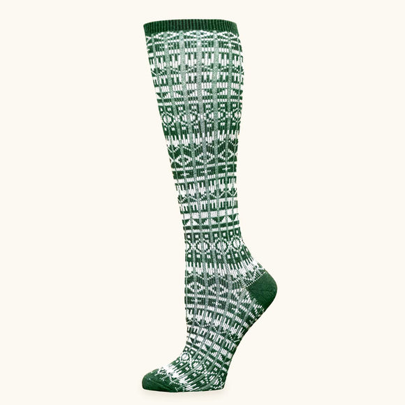 Organic Wool & Cotton Knee-high