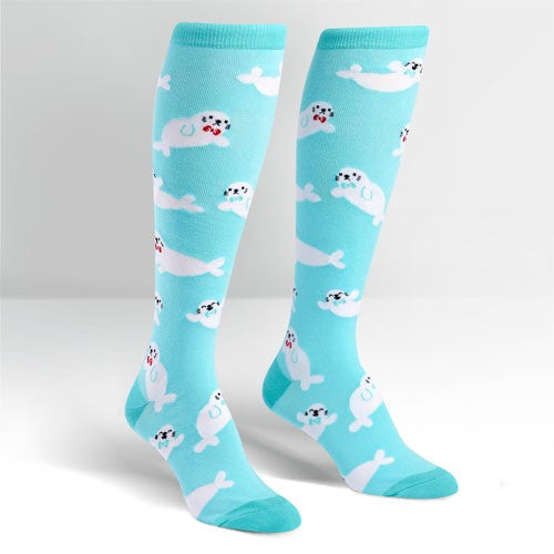 Sock It To Me Baby Seals Knee-High