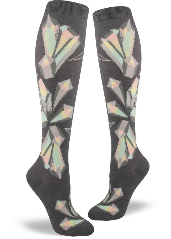Crystals, Women's Knee-High