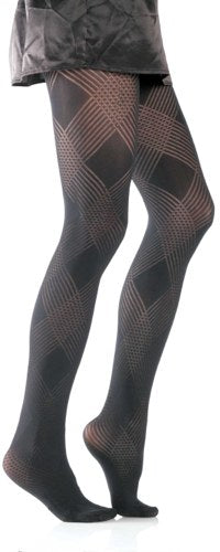 Diamond Weave Tights